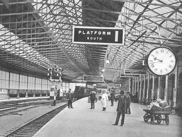 Crewe train station, 1910's