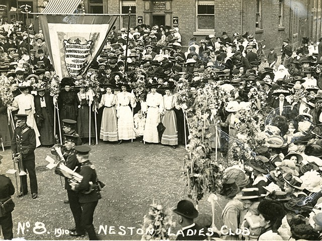 Event, Ladies Day, Neston, 1910's