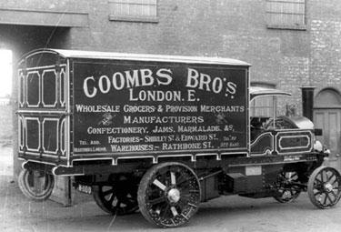 Foden: Steam wagon