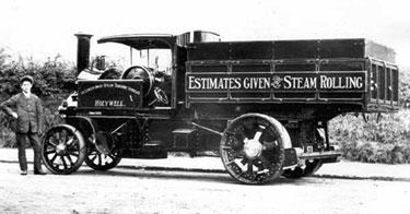 Foden: Four ton standard tipping wagon