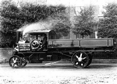 Foden: Five ton steam wagon
