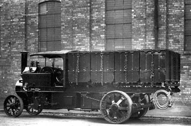 Foden: Four ton standard wagon with tipping tubs
