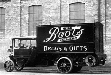 Foden: Three ton standard wagon