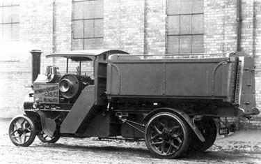 Foden: Four ton side tipper
