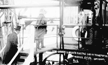 Widnes: Visit of King George V