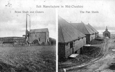 Salt Industry: Salt Works in Mid-Cheshire