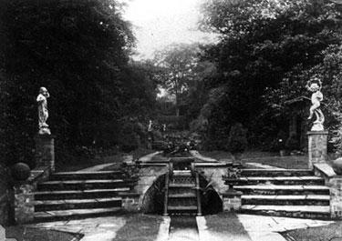 Whitegate: Vale Royal, the Italian Garden