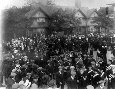 Port Sunlight: First World War Parade