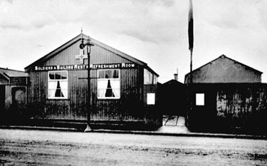 Crewe: Soldiers'  Sailors' Rest, Nantwich Road