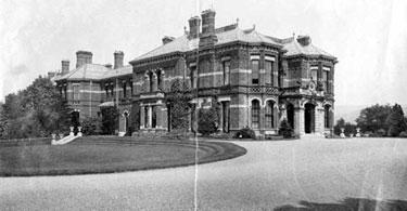 Congleton: Henshall Hall, Mossley