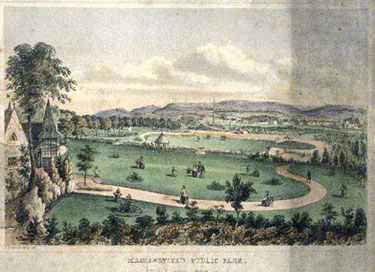 Macclesfield: West Park lithograph