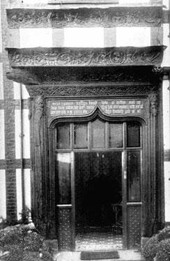 Dutton: Entrance to Dutton Hall