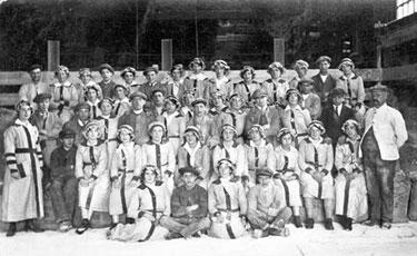 Northwich: First World War Munition Workers