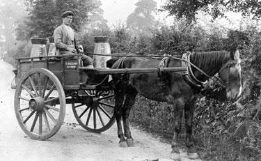 Winsford: Milk Delivery