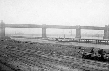 Manchester Ship Canal: Paddle Steamer at Runcorn
