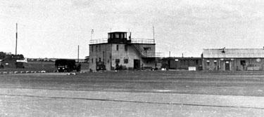 Burtonwood Airfield: Control Tower