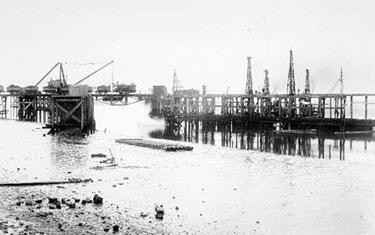 Manchester Ship Canal: Bridge Testing at Ellesmere Port