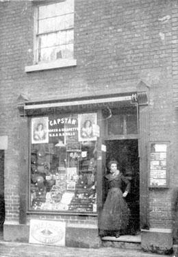 Warrington: Tobacconist Shop in Mersey Street
