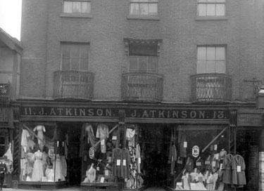 Warrington: Atkinson's Shop, Bridge Street