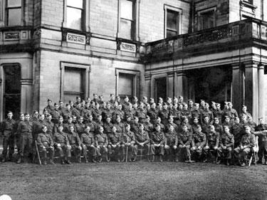 Tytherington: Home Guard at Tytherington Hall
