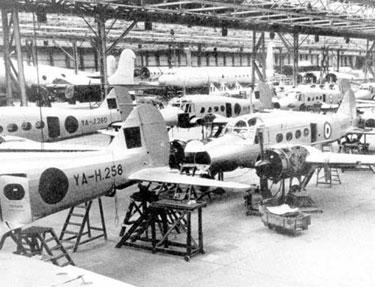 Woodford: Avro Anson Production