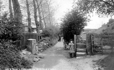 Neston: Entrance to Stanney Park