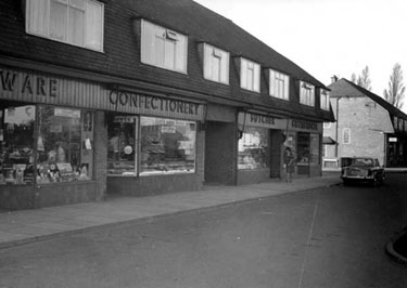 Ellesmere Port: Shops, Chester Road, Whitby, near Mansfield Road