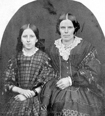 Mrs Hanmer and Miss Hanmer