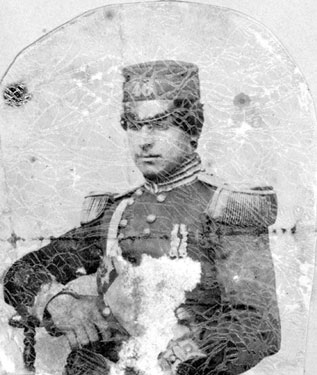 Portrait of Lieutenant Townshend