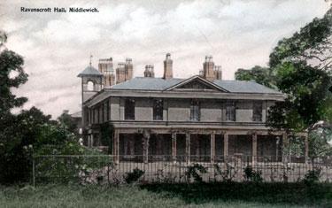 Middlewich: Ravenscroft Hall
