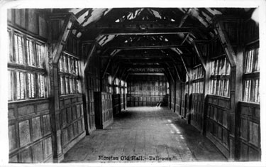 Odd Rode: the Ballroom at Little Moreton Hall