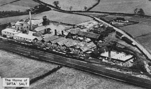 Sandbach: Palmer Mann Salt Works, Ettiley Heath