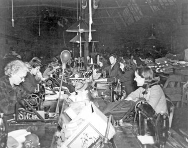 Crewe: Making Uniforms for the US Army