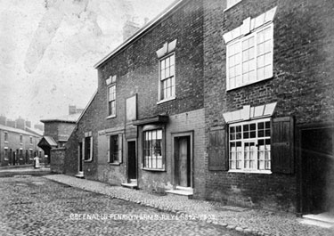 Northwich: The Penrhyn Arms, New Street