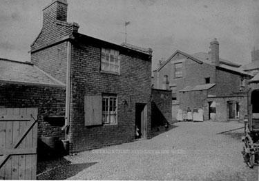 Northwich: Talbot Yard, off Witton Street