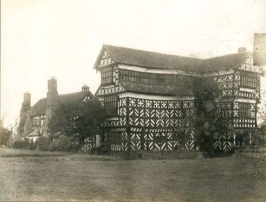 Odd Rode: Little Moreton Hall from the south-west