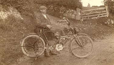 Place unknown: Unidentified biker