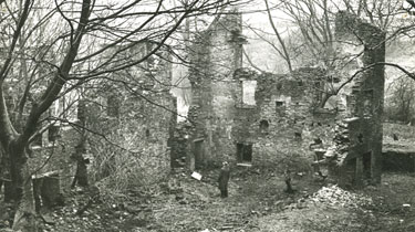 Place unknown: Unidentified ruins