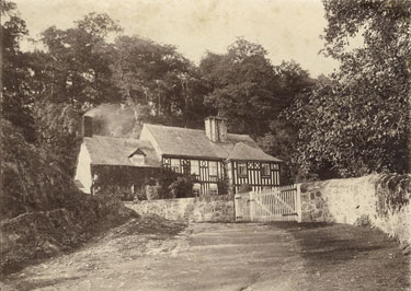 Place unknown: Unidentified house