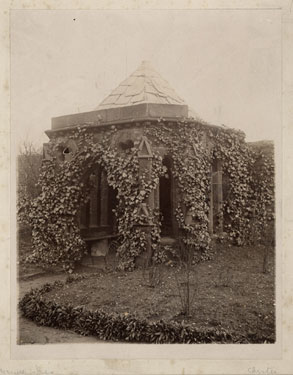 Place unknown: Unidentified summer house
