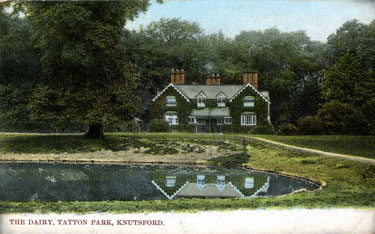 Knutsford: Tatton Park, the Dairy