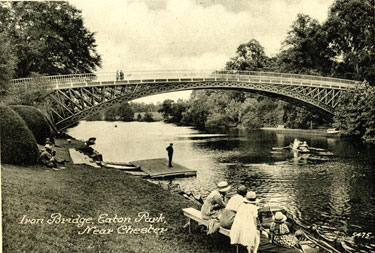 Chester: Iron Bridge, Eaton Park