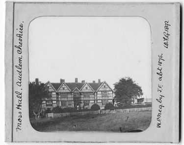 Audlem: View of Moss Hall