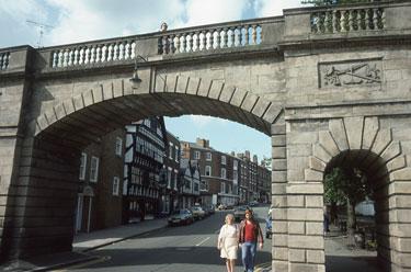 Chester: Lower Bridge Street.