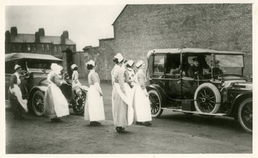 Helsby: Red Cross Hospital