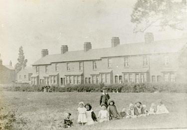 Helsby: Terraced houses