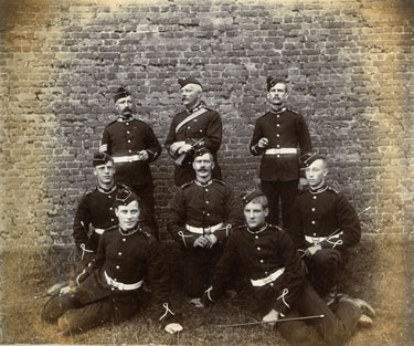 Second Cheshire Royal Engineers, location unknown