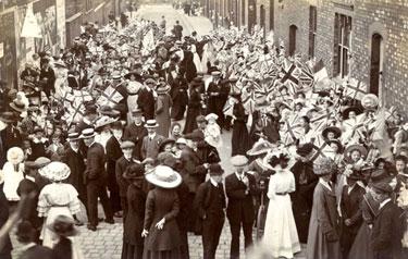 Crewe: Adelaide Street, St Paul's School