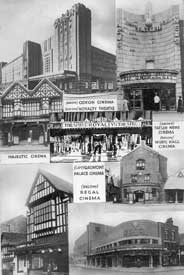 Montage of cinemas in Chester