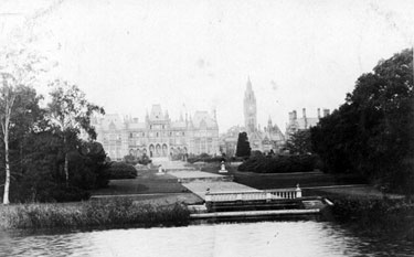 Eaton Hall from the River Dee